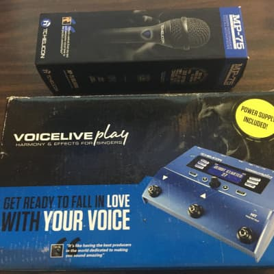 TC Helicon VoiceLive Play with TC Helicon MP 75 Microphone