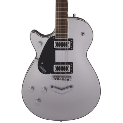 Gretsch G5230LH Electromatic Jet FT Single-Cut with V-Stoptail - Airline Silver Pre-Order
