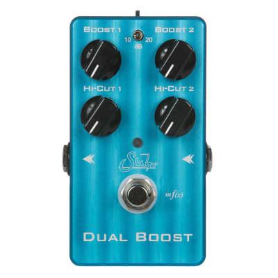 SUHR Dual Boost Transparent Clean Boost Guitar Effect Pedal Open Box Mint