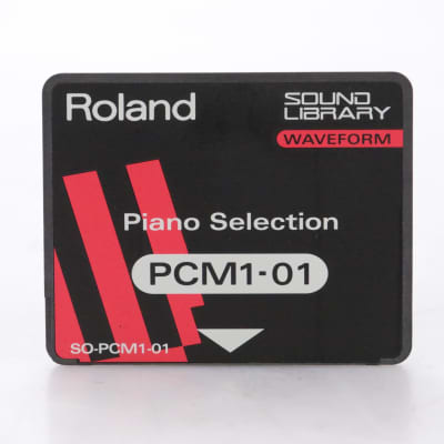 Roland SO-PCM1-01 Piano Selection Sound Library Waveform Card for JV-80 #44287