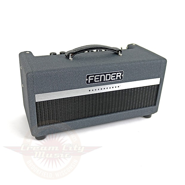 brand new fender bassbreaker 15 15w tube guitar amp head reverb. Black Bedroom Furniture Sets. Home Design Ideas