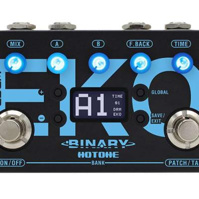 Hotone Binary Series Eko Delay Guitar Effects Pedal for sale