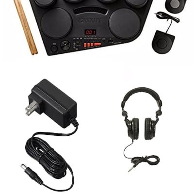 Yamaha DD75 8-Pad Portable Digital Drumset w/ Power Adapter & Headphones