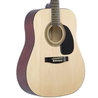 Johnson Dreadnaught Acoustic Guitar 3/4 size Natural for sale