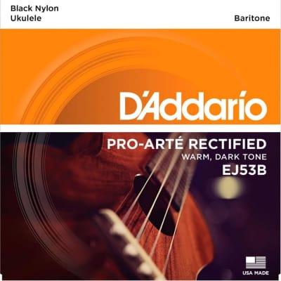 D'Addario EJ53B Pro-Arté Rectified Ukulele Strings Baritone