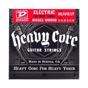 DunlopDHCN1254 Heaviest Core Nickel-Plated Steel Electric Guitar Strings - 12-54