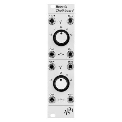 ALM Busy Circuits Beasts Chalkboard: Dual octave switch and multiple
