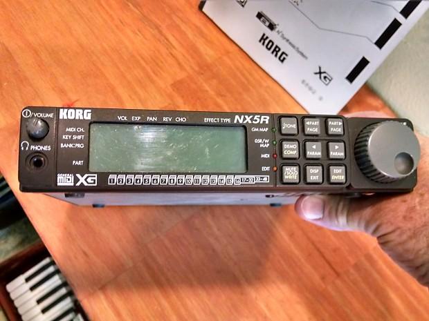Korg NX5R Synth Module | BackBeat Music Company