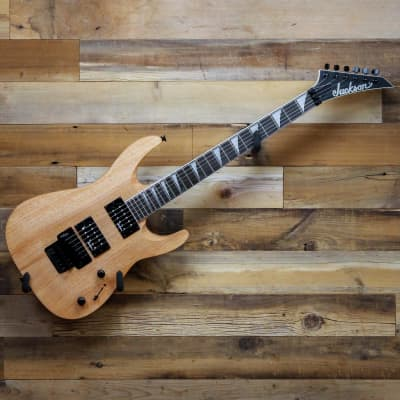 Jackson JS Series Dinky Arch Top JS32 DKA Electric Guitar in Natural Oil with Amaranth Fingerboard