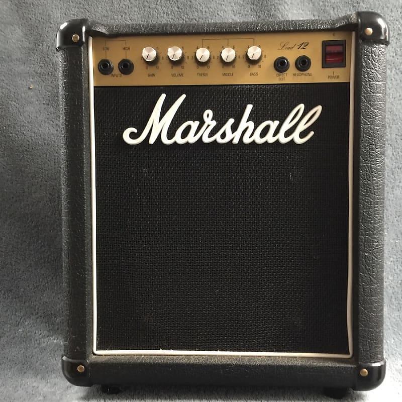 marshall 5005 lead 12 combo amp analog attic reverb. Black Bedroom Furniture Sets. Home Design Ideas