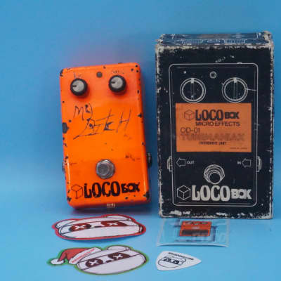 Loco Box OD-01 Tubemaniax w/Original Box | Rare Late 1970s Distortion | Fast Shipping!