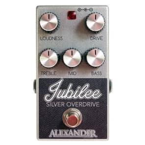 Alexander Jubilee Silver Overdrive Pedal