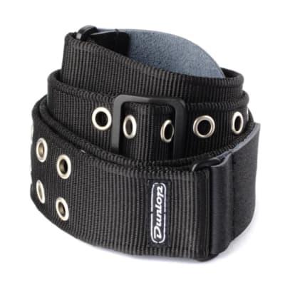 Dunlop D3819BK Classic Grommet Strap