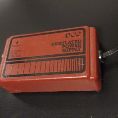 Vintage DOD Regulated Power Supply  1980's orange for sale