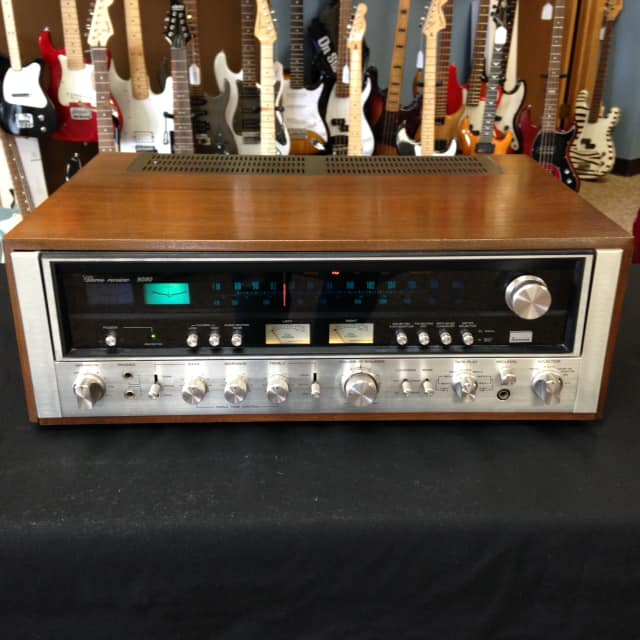 Sansui 9090 Stereo Receiver 1975 Vintage Classic 110 Watts per Channel One Owner, Clean! image