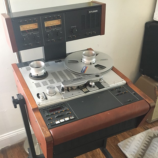 Studer A807 tape machine 2 track Detroit Pickup