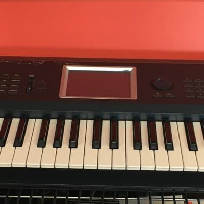 KORG TRITON Extreme 61 synthesizer VG working Super Rare Japan w/AC Adapter