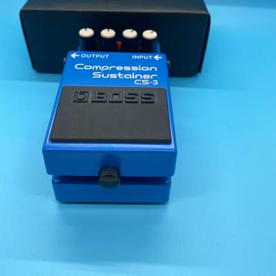 Boss CS-3 Compression Sustainer w/Original Box | Fast Shipping!