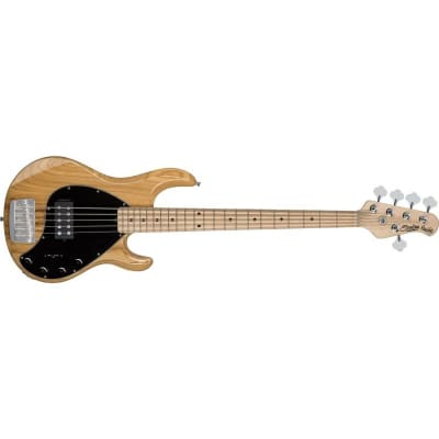Sterling Ray35 StingRay 5 Bass, 5-String, Natural for sale