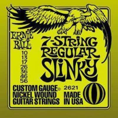 Ernie Ball 2621 Nickel Wound Regular Slinky 10-56