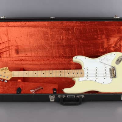 2004 Fender Custom Shop '69 Closet Classic Stratocaster Relic Olympic White for sale