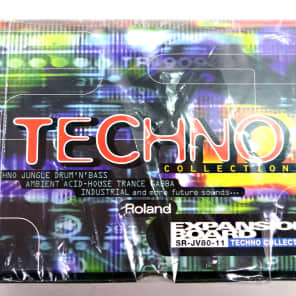 Roland SR-JV80-11 Techno Collection - FREE Sipping!
