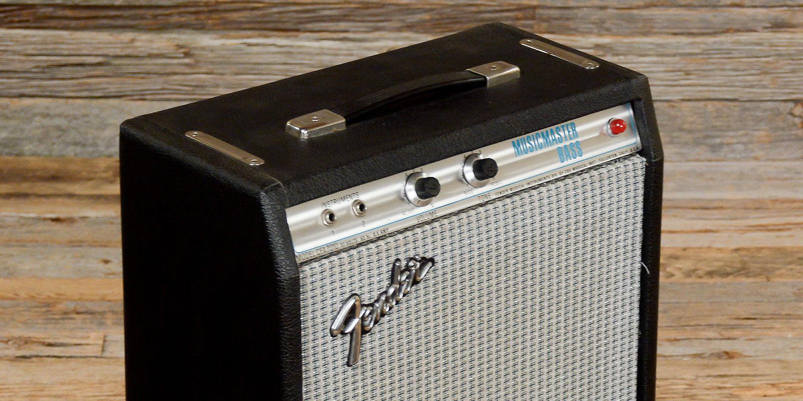 59 fender music master bass amp dating