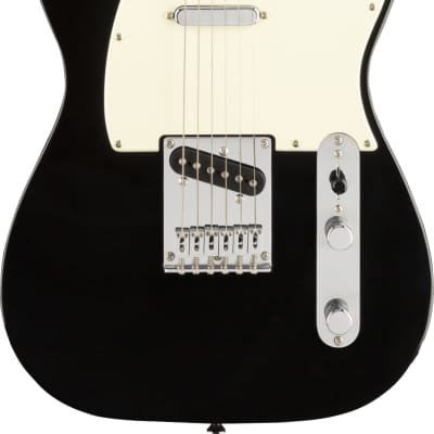 Fender Bullet Telecaster in Black with Laurel Fretboard for sale