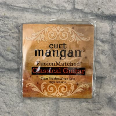 Curt Mangan 90611 Fusion Matched Classical Guitar Nylon Strings - High Tension Tie On