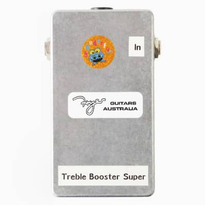 2016 Fryer Brian May Treble Booster Super Clean Overdrive HandWired Effects Pedal - Like New in Box! for sale