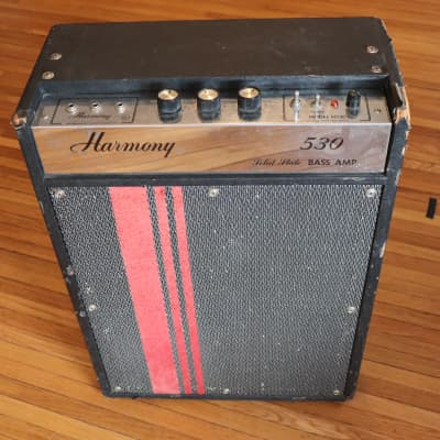 Harmony  Vintage 1960's H-530 Solid State Bass Amp for sale