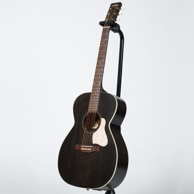 Art & Lutherie Legacy Concert Hall Acoustic-Electric Guitar- Faded Black for sale