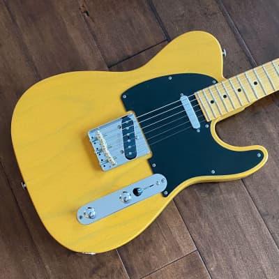 Suhr Classic T Antique Electric Guitar Trans-Butterscotch Maple Neck JS7X5J