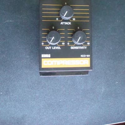 Korg KCO-101 Compressor module for PMX-40X Black for sale