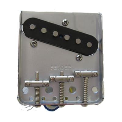 Fender Standard Series Telecaster Thinline Bridge Assembly