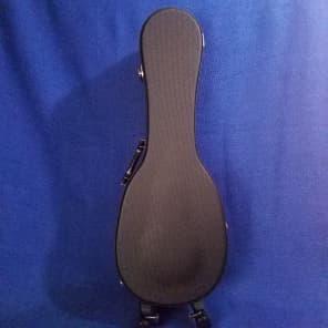 Mims Ukes: Ohana Concert Pineapple Ukulele Hard Case Black UCP-24 Uke Accessory