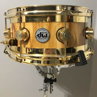 """DW 13x6"""" Exotic Edge Gold African Chenchen"""