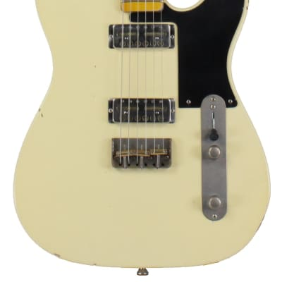 Nash GF-2 Gold Foil Guitar, Vintage White for sale