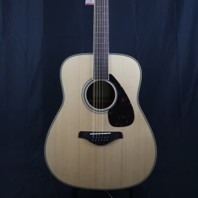 Yamaha FG820-12 Folk Acoustic 12-String Guitar Natural