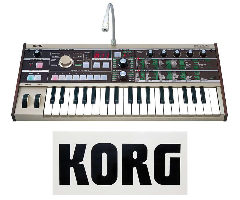 korg microkorg synthesizer vocoder three wave music reverb. Black Bedroom Furniture Sets. Home Design Ideas