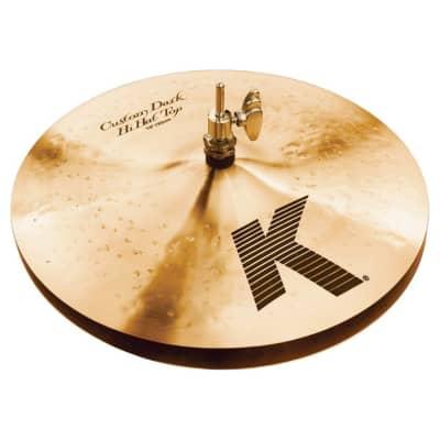 "Zildjian 13"" K Custom Dark Hi-Hat Cymbals (Pair)"