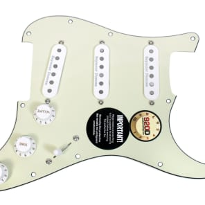 920D Custom Shop 270-35-10 Seymour Duncan Vintage/Classic/Custom Stack Loaded Strat Pickguard w/ 7-Way Switching