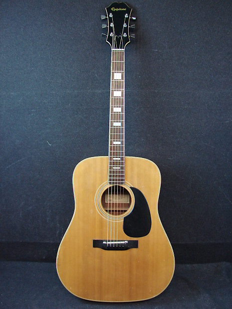 Epiphone FT-150 MIJ Made in Japan Dreadnought Acoustic Guitar