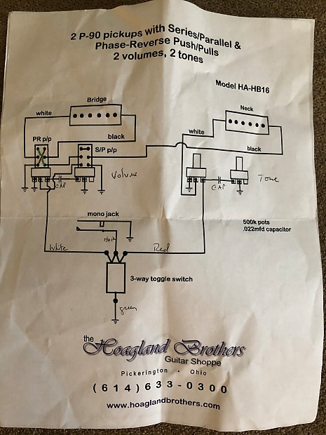 jimmy page wiring harness coil split phase series. Black Bedroom Furniture Sets. Home Design Ideas