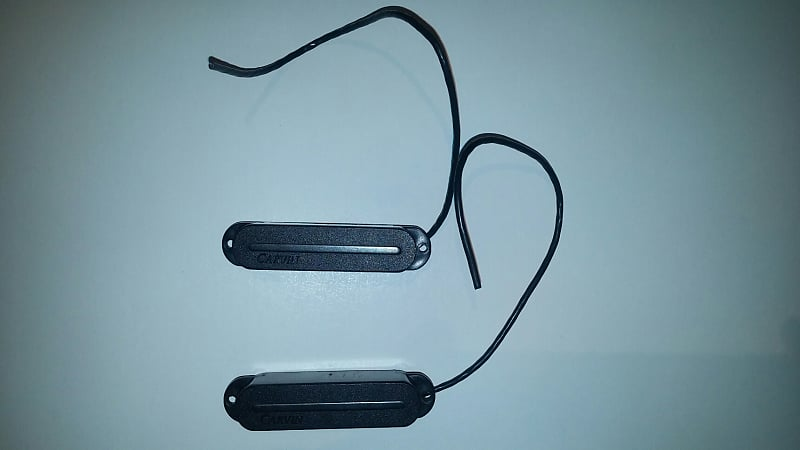 Pair Of Carvin S60 Single Coil Blade Pickup | Reverb