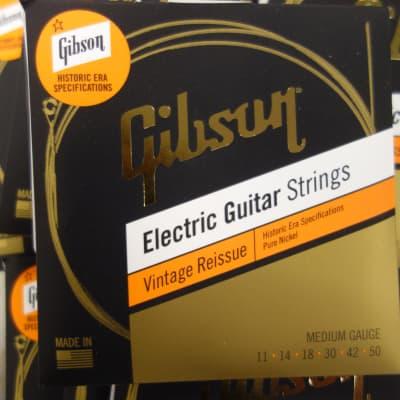 Gibson Vintage Reissue 11-50 Medium gauge Historic Era ( 10 sets)
