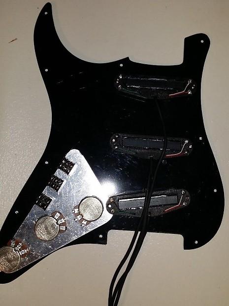 GFS Lil Killer Set Black Rail Pickups for Strat