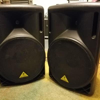 """Behringer Eurolive B215D 550-Watt 15"""" Powered Speaker (single or pair)"""