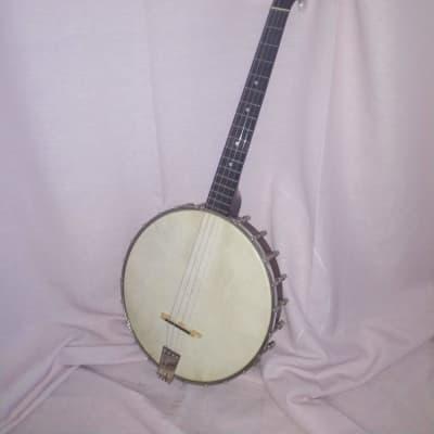 Lyon and Healy American Conservatory Tenor Banjo 1923-1925 Mahogany for sale