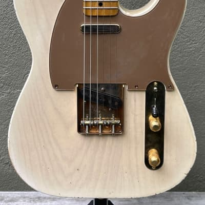 2021 Nacho Telecaster Blonde Oscar Moore Tribute #0902 for sale